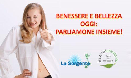 banner benessere e bellezza parliamone insieme conferenze Savona 09-2017
