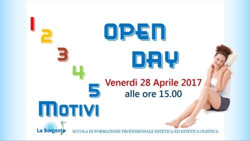 Banner Open day scuola 04-2017